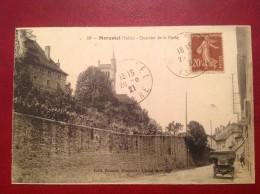 38 Isere MORESTEL Quartier De La Poste - Automobile + Cad - Morestel