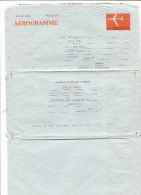 1977 AUSTRALIA  Used Aerogramme Red Jetliner Issue 25c Value FOLDED Contains CAPEX Correspondence - Aerogrammes
