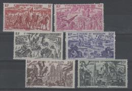 Saint Pierre Et Miquelon - PA 12 à 17 Neufs * - Poste Aérienne