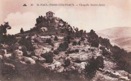 St-Paul-Trois-Chateaux (Drôme) - Chapelle Sainte-Juste - Carte CAP N°23 - Autres Communes