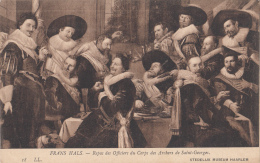 1920 CIRCA - STEDELIJK MUSEUM HAARLEM - REPAS DES OFFICIERS - FRANS HALS - Peintures & Tableaux