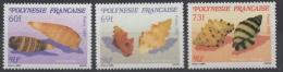 POLYNESIE - YT N° 343 à 345 - Neufs ** - MNH - Cote: 6,70 € - Polynésie Française