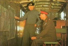 Postcard - Field Marshal Montgomery & King George VI. TR2393 - People