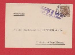 ALLEMAGNE  //  Postkarte  De Mulhausen    //   Pour Rixheim  //  15/3/1916 - Stamped Stationery