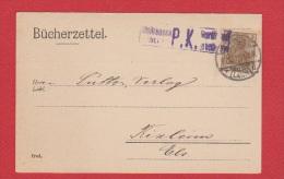 ALLEMAGNE  //  Postkarte  De Limburg       //   Pour Rixheim  //   15/12/1917 - Enteros Postales