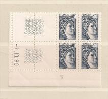 FRANCE ( D16- 5782 )  N° YVERT ET TELLIER  N° 1962  N** - Coins Datés