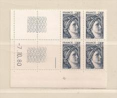 FRANCE ( D16- 5783 )  N° YVERT ET TELLIER  N° 1962  N** - Coins Datés