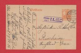 ALLEMAGNE  //  Postkarte  De Berlin      //   Pour Rixheim  //   12/12/1916 - Stamped Stationery