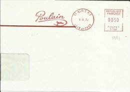 Lettre EMA Havas T Poulain Chocolat  Cheval Animaux Mammiferes  Thematique 41 Blois 48/06 - Poststempel (Briefe)