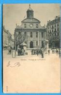 OV754, Genève, Temple De La Fusterie, Animée, Précurseur, Circulée Sous Enveloppe - GE Genève