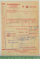 Konsum, Quitzow über Perleberg 1975 - Rechnungen