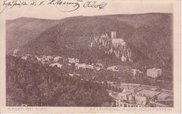 AK  Baden Bei Wien - Helenental Ruine Rauhenstein - 1918 (11641) - Baden Bei Wien