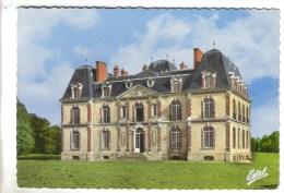 CPSM SEZANNE (Marne) - Le Château Aiglemont Chapton : La Façade - Sezanne