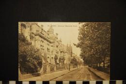CP, 57, METZ, Avenue Maréchal Foch, Voyagé En 1923, Ed : Ch. Fischer - Metz