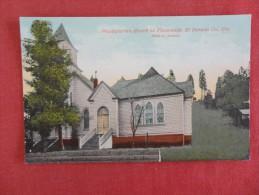 - California>  Presbyterian Church At Placerville  El Dorado Co-- ----- -----ref 1692 - Unclassified