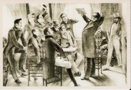 BELGIQUE (1830) : Van Campenhout Chante La Brabançonne Devant Les Patriotes. CARTE 2 DES ARCHIVES DU SOIR (2005) - Histoire