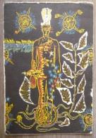 JEAN LURCAT.FRAGMENT DE L´HOMME EN GLOIRE DANS LA PAIX.CHANT DU MONDE. - Rugs, Carpets & Tapestry