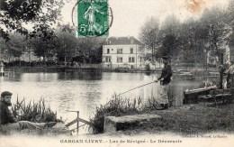 93 Gargan Livry, Lac De Sevigne, Le Deversoir, Pecheur - Livry Gargan