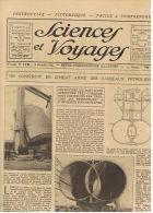 SCIENCES ET VOYAGES 1921 PETROLIERS EN CIMENT CAOUTCHOUC CATASTROPHE D'OPPAU - Livres, BD, Revues