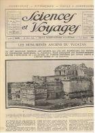 SCIENCES ET VOYAGES 1924 MONUMENTS DU YUCATAN LA MECQUE ZEBRE PORT DE MEMEL - Books, Magazines, Comics