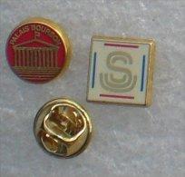 PALAIS BOURBON & SENAT 2 PIN'S        UUU  80 - Badges
