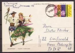 Polen , Ganzsachen , Postkarte , 1963 , Mi. Nr. P 270 - Stamped Stationery