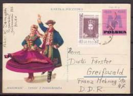 Polen , Ganzsachen , Postkarte , 1963 , Mi. Nr. P 271 - Ganzsachen