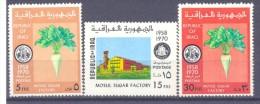 1970. Iraq, Mosul Suger  Factory, 3v, Mint/** - Irak