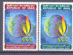 1978. Iraq, 30th Annivers.of Human Right, 2v, Mint/** - Irak