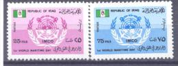 1978. Iraq, First World Maritime Day, 2v, Mint/** - Irak