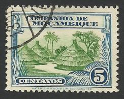 Mozambique Company, 5 C. 1937, Scott # 176, Used. - Mosambik