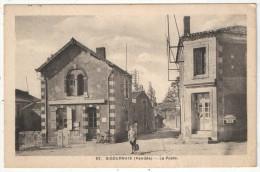 85 - SIGOURNAIS - La Poste - JP 82 - 1951 - Andere Gemeenten