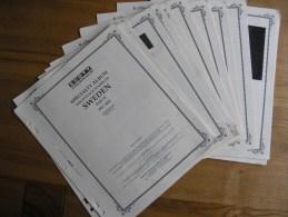 SWEDEN SVERIGE SUEDE 1987 – 2006 SCOTT Album Pages Read Description #18433 - Albums & Bindwerk
