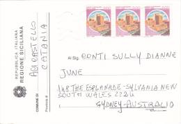 Italy 1998 Election Card Sent To Australia - 6. 1946-.. Republic