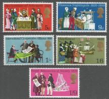 Great Britain. 1970 Anniversaries. MH Complete Set. SG 819-823 - 1952-.... (Elizabeth II)