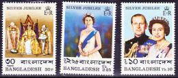 Bangladesch - 25. JT Krönung Königin/Coronation Queen/Couronnement De La Reine Elisabeth II  1977 - Postf. MNH - Bangladesh