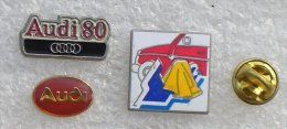 AUDI VOLKSWAGEN 3 PIN'S    UUU  89 - Audi