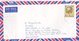 Kiribati Cover Sent To Australia - Kiribati (1979-...)