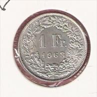 ZWITSERLAND 1 FRANC 1963 SILVER - Monnaies