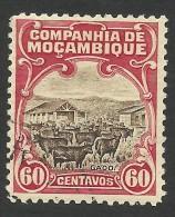Mozambique Company, 60 C. 1923, Scott # 139, Used. - Mozambique