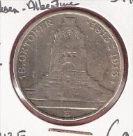 DUITSE RIJK SAKSEN-ALBERTINE 3 MARK 1913E SILVER KM1275 - [ 2] 1871-1918 : Duitse Rijk