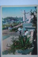 """TASHKENT. """"Komsomol Park"""" Soviet Park Sculpture. OLD PC 1964 - Uzbekistan"""