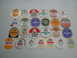 50 Beerlabels Brauhaus Zur Garde / Dormagen - Bier