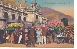 MONACO  --  MONTE CARLO   ---  CPA  -- Le Café De Paris - Bares Y Restaurantes