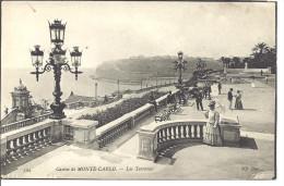MONACO  --  MONTE CARLO   ---  CPA  - -  Casino De Monte Carlo  --   Les Terrasses - Le Terrazze