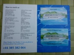 Phonecard Geneve  (Mint,Neuve) With Folder Only 1000 Made Rare - Schweiz