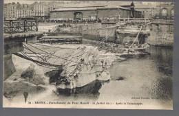 NANTES . Ecroulement Du Pont Maudit . Après La Castastrophe .. - Nantes