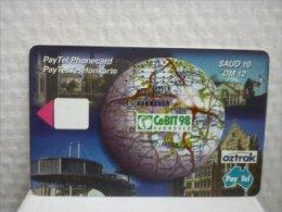 Phonecard VOID Sample CEbit 98 Hannover Rare - Deutschland