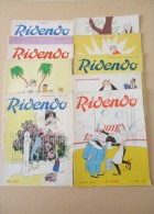 Lot De 11 Revues - Revue Gaie Pour Le Médecin - RIDENDO - Oct.1956 à Oct.1967 - Dessins De R.Lep, Fortuné, H. Hémard,.. - Humor