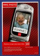 SFR MMS PHOTO Bonanez - Publicité